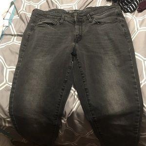 Black/Dark grey skinny jeans